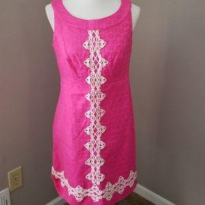 Charter Club pink shift dress size 10P